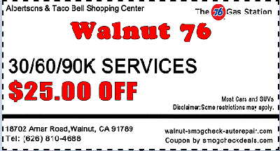 $25 OFF Auto Service Coupon